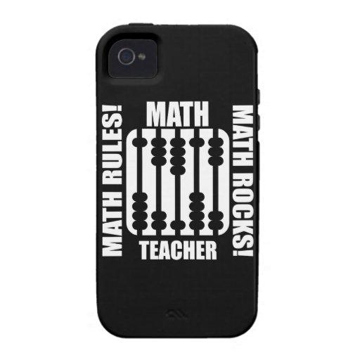 cool math teacher iPhone 44S covers  Zazzle