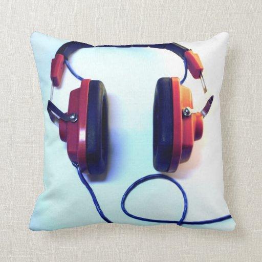 Cool Mr Dj Headphones Pillow  Zazzle