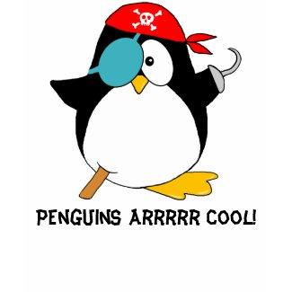 Cool Pirate Penguin shirt