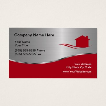 Cool Real Estate Business Card
