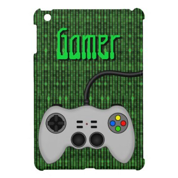 Cool Video Game Controller Vector in Grey Cover For The iPad Mini