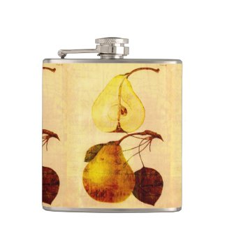 Copper Pear Flask