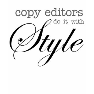 Copy Editors Do It With Style shirt shirt