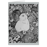 Coquina Bunny Greeting Cards
