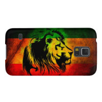Cori Reith Rasta reggae music rasta flag lion Case For Galaxy S5