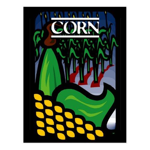 Corn Postcard