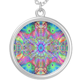 Cosmic Creatrip - Psychedelic Necklace necklace