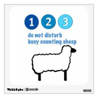 Sheep Wall Decals & Wall Stickers | Zazzle