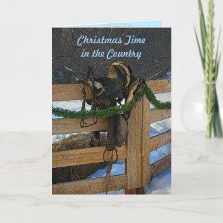 Merry Christmas Pine Cone Card