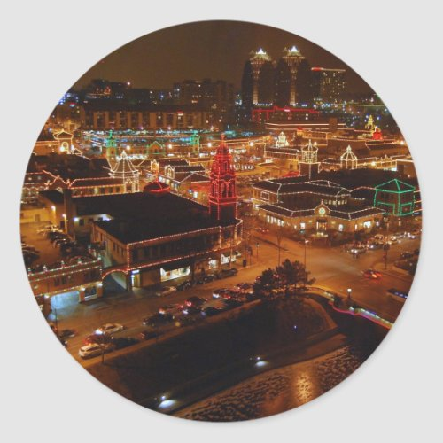 Country Club Plaza, Kansas City, Holiday Lights sticker