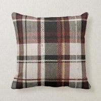 Country plaid throw pillow | Zazzle
