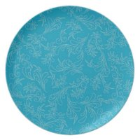 Turquoise Decorative Plates | Zazzle