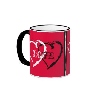 Couple of hearts mug