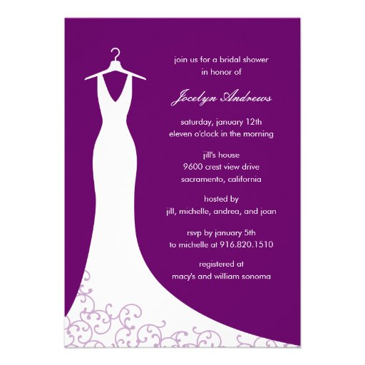 Couture Wedding Invitations Less