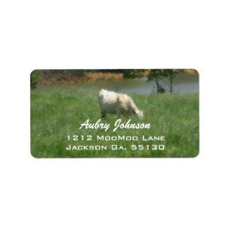 Cow Address Labels