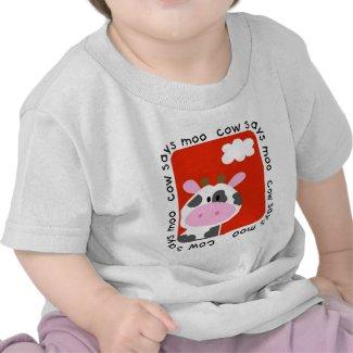 Cow Says Moo Tshirts and Gifts shirt