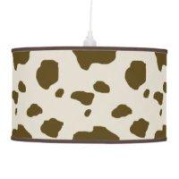 Cattle Table & Pendant Lamps   Zazzle