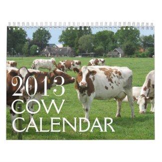 Cows Calendar 2013