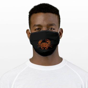 Crab Adult Cloth Face Mask