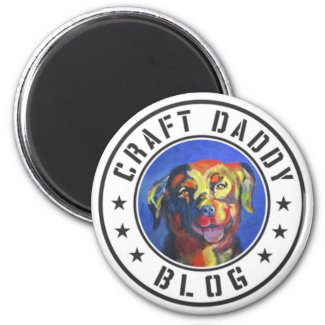 Craft Daddy Blog Merchandise Logo Magnet