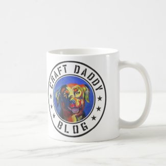 Craft Daddy Blog Merchandise Logo Mug, 11oz