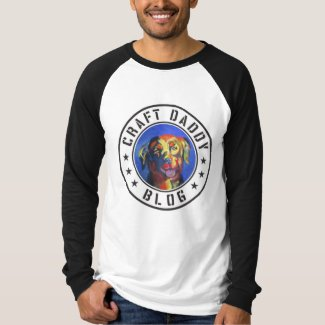 Craft Daddy Blog Merchandise Men's Long Sleeve Raglan T-Shirt
