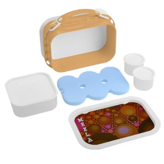 Crazy Anstract YUBO lunc containers Lunch Box