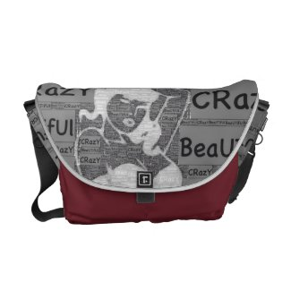 Crazy Beautiful Messanger bag Courier Bags