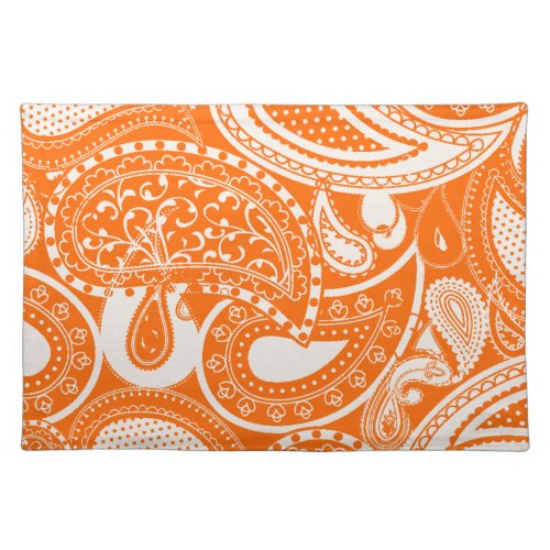 Cream Paisley pattern placemats mojo_placemat