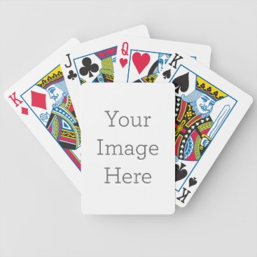 Create Your Own Bicycle Playing Cards