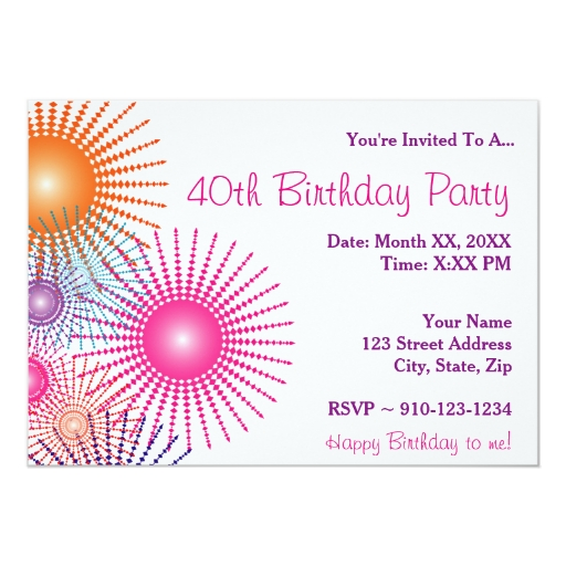 Make Your Own Birthday Invitations