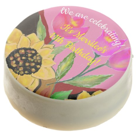 Create Your Own Birthday Tulip & Sunflower Treat
