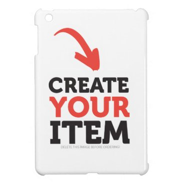 CREATE-YOUR-OWN DIY Custom upload your design iPad Mini Cover