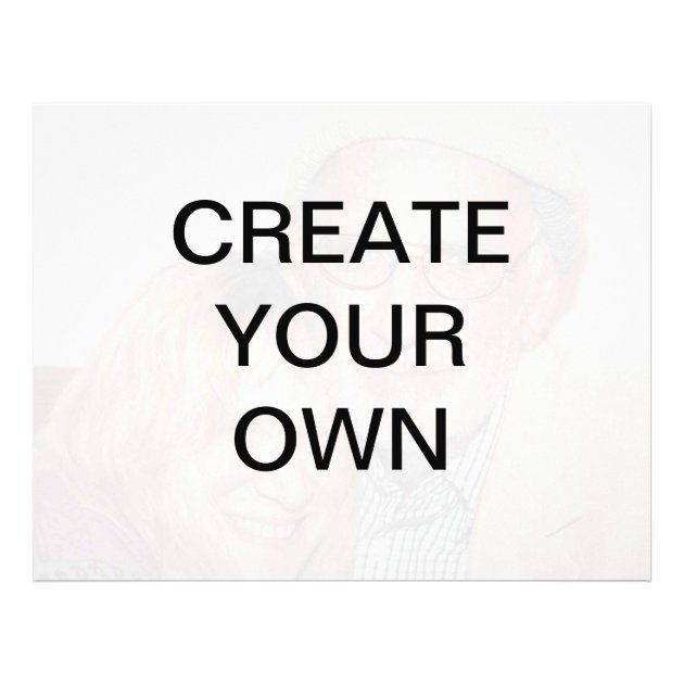 Create Your Own Flyer  Zazzle