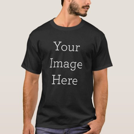 Create Your Own Men's Dark Short Sleeve T-Shirt