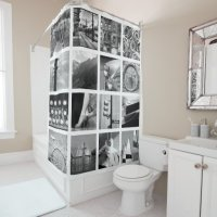 Create-Your-Own Photo Collage Shower Curtain | Zazzle