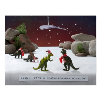 Cretaceousmas Miracle Post Cards