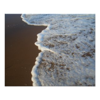 CricketDiane Ocean Poster - Foamy Sea Surf