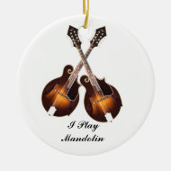 CROSSED MANDOLINS-ORNAMENT