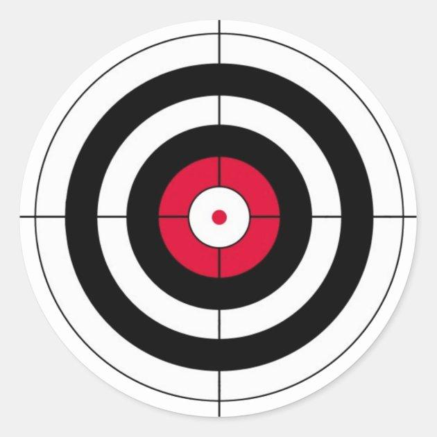 crosshairs bullseye target classic