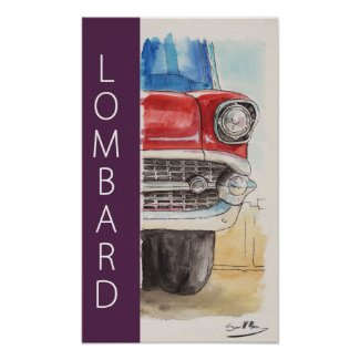 Cruise Nights in Lombard Poster