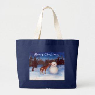 Curiosity Christmas Bag bag