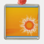 Curly Sunshine Customizable Design ornaments