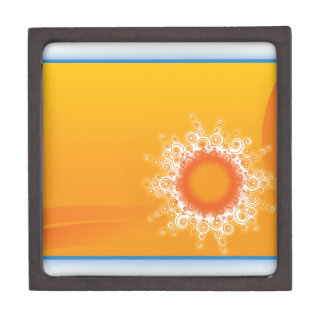 Curly Sunshine Customizable Design Premium Keepsake Box