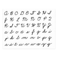Cursive Letters Gifts on Zazzle