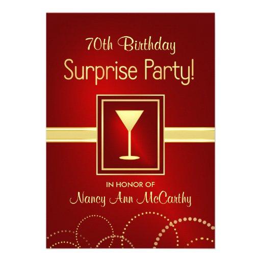 Pear tree combines paper engineering. Most Popular 70th Birthday Party Invitations Custominvitations4u Com
