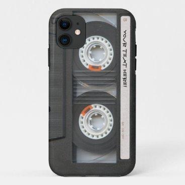 Custom Cassette Mixtape iPhone 11 Case