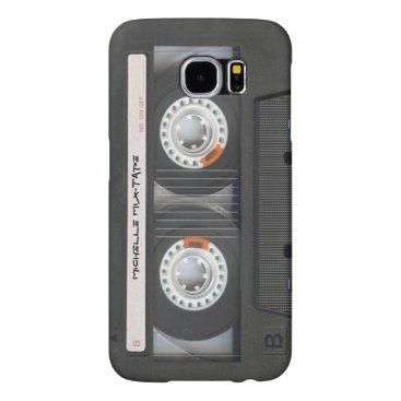 Custom Cassette Mixtape Samsung Galaxy S6 Case