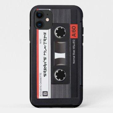 Custom Cassette Tape iPhone 11 Case