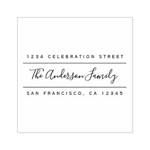 custom family name modern